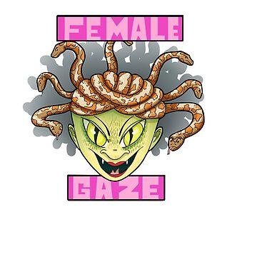 Female Gaze by HungryRam45
