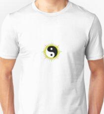 Yin Yang Design in front of the Sun Unisex T-Shirt