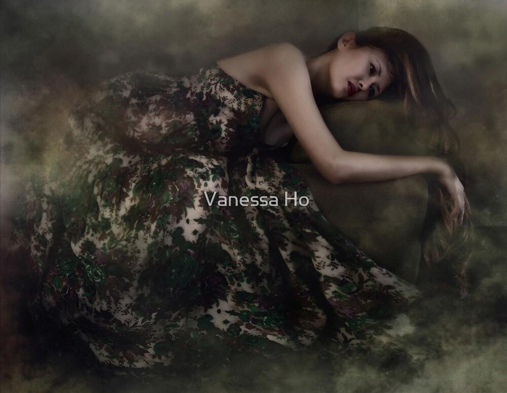 Self portrait by Vanessa Ho
