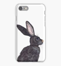 BROWN HARE iPhone Case/Skin