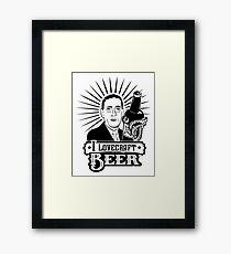 I Lovecraft Beer Framed Print