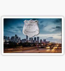 Houston Police Sticker