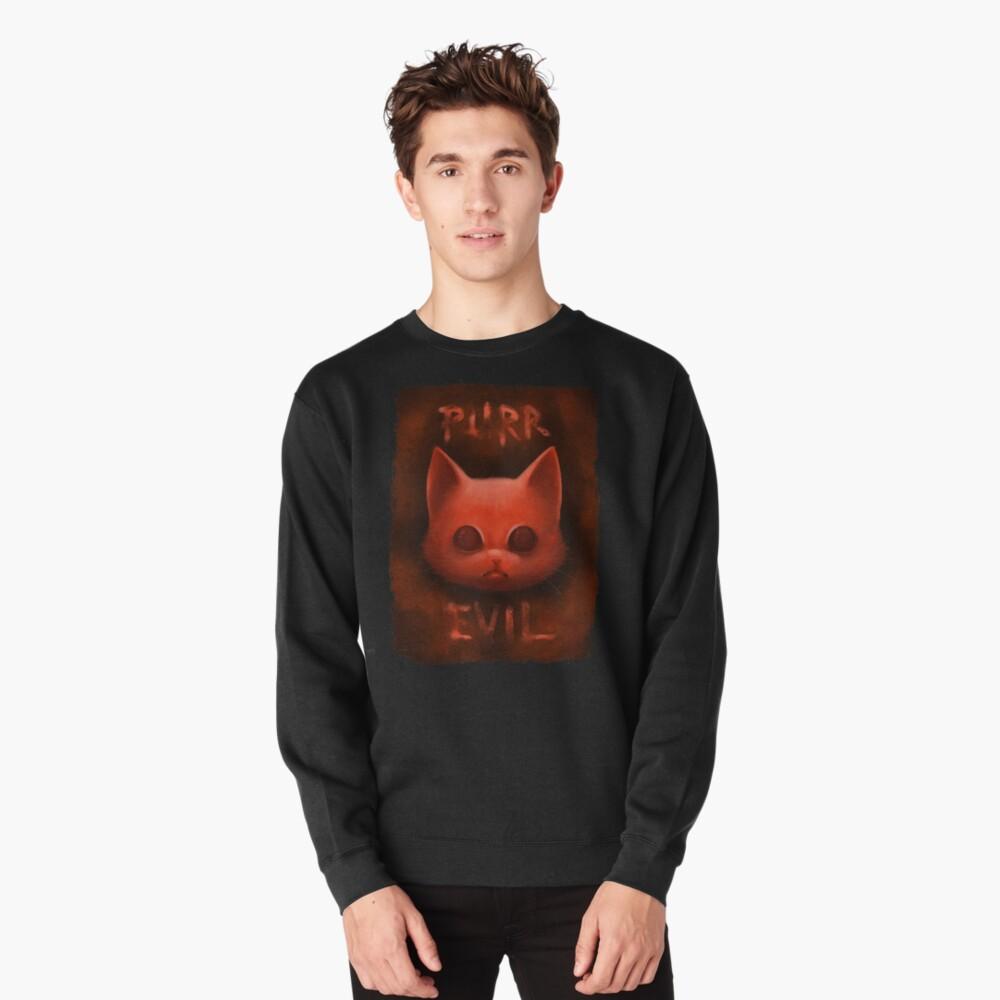 Sweatshirt épais «PurrEvil»