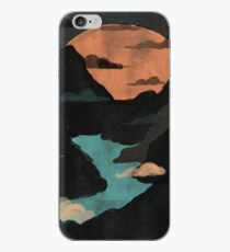Moonlit Gorge... iPhone Case