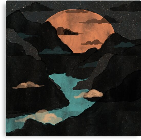 Moonlit Gorge... by ndtank