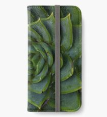 Spiral Succulent iPhone Wallet/Case/Skin