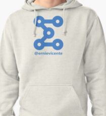 @ernievicente comedian Pullover Hoodie