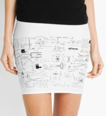 Physics Equations - Physics Formulas Mini Skirt