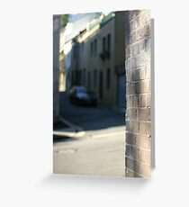 Surry Hills Streets Greeting Card