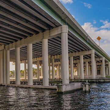 Under a Bridge, Tampa, FL by gerdagrice