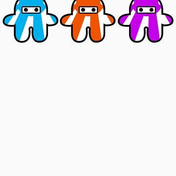 Three Ninjas by nickitup