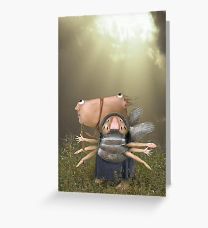 Easy Walk Greeting Card