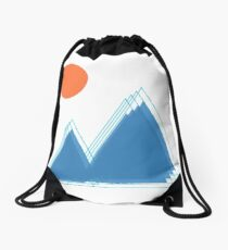 shadow hills Drawstring Bag