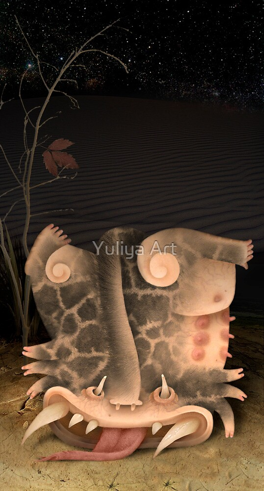 Hamster by Yuliya Art