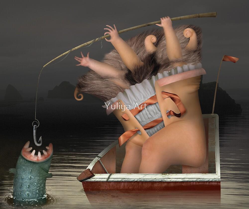 Fishing by Yuliya Art