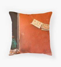 Home. Varanasi Throw Pillow