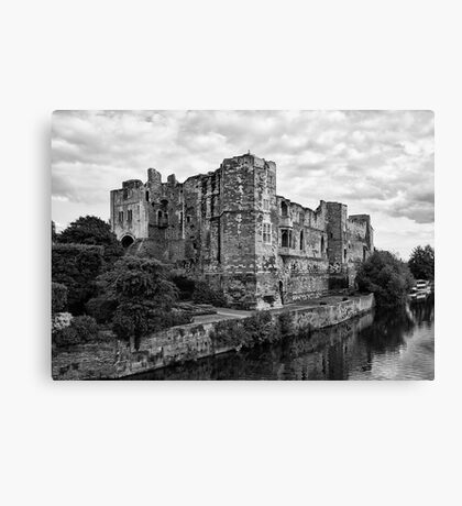 Newark Castle. Canvas Print