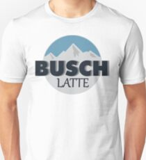 Busch Latte Slim Fit T-Shirt