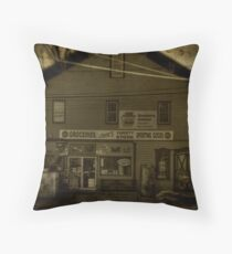 Cook's Variety Store Throw Pillow