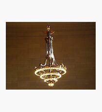 Lámina fotográfica Lámpara clásica, Midtown East, Nueva York