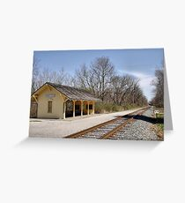 Cuyahoga Valley Scenic Railroad Greeting Card