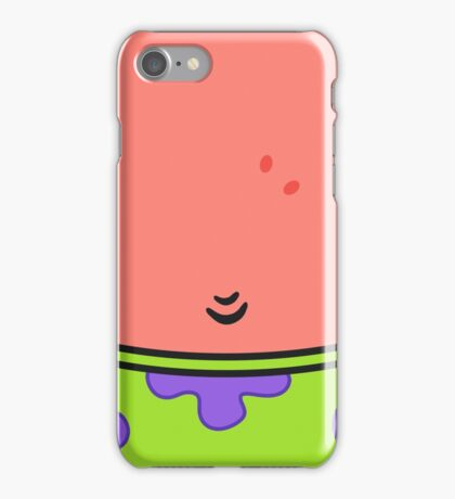 Patrick Star (well... his stomach) iPhone Case/Skin