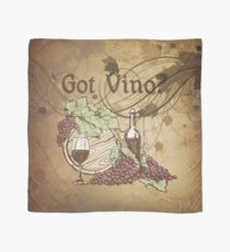 Got Vino Wine and Grapes Scarf