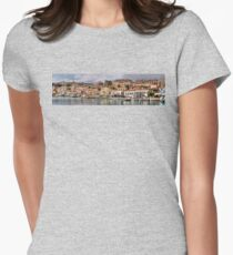 Chalki Waterfront Women's Fitted T-Shirt