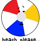 beach, please by paintbydumbers