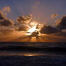 Sunset over Seven Mile Beach, Grand Cayman, Caribbean by Geetha Alagirisamy