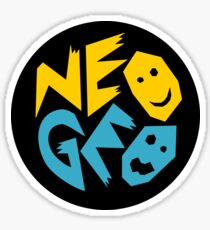 Neo Geo Logo NEO-GEO  Sticker
