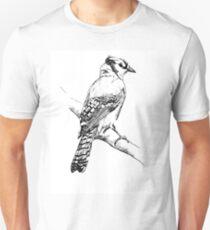 Bluejay Ink Illustration Unisex T-Shirt
