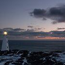Sunrise at Cape Spear by Daphne Johnson