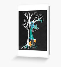 Keeper of the Wood... Greeting Card