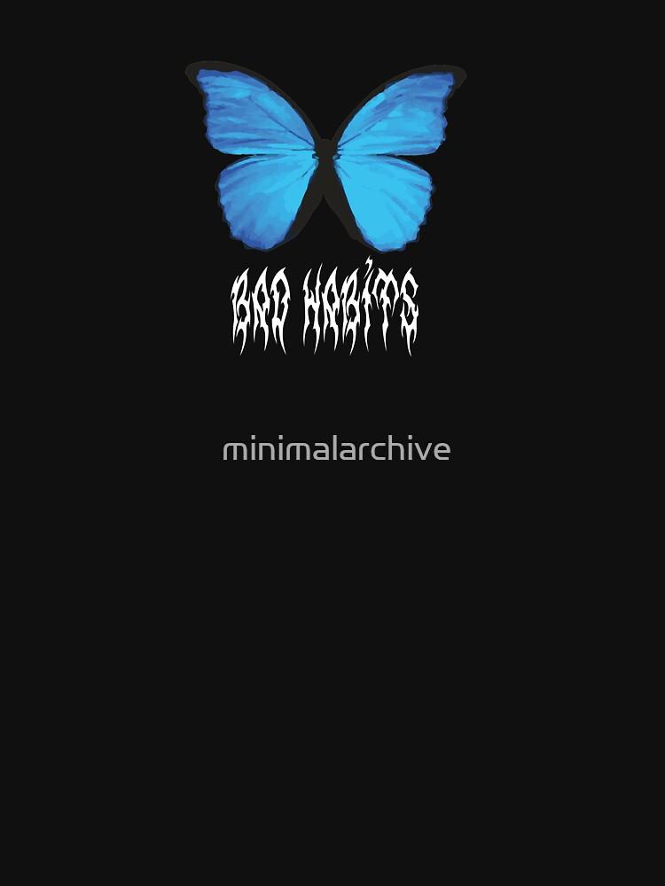 Butterfly schlechte Gewohnheiten von minimalarchive