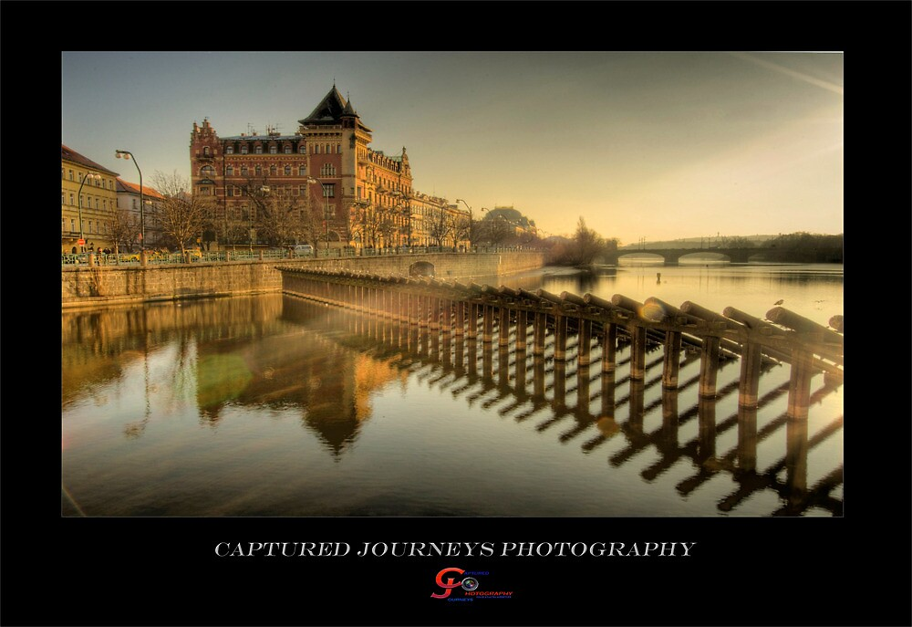 The Sun-rays in Prague by capturedjourney