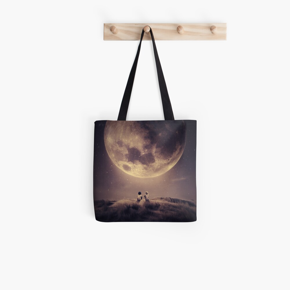 Where we tell our stories Tote Bag