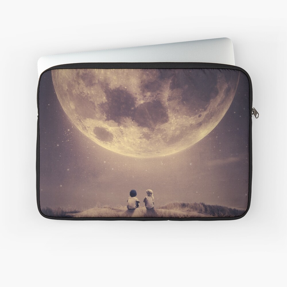 Where we tell our stories Laptop Sleeve