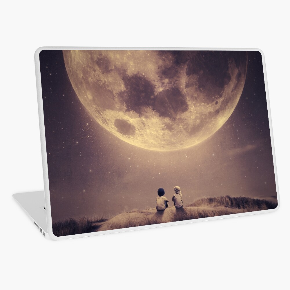 Where we tell our stories Laptop Skin