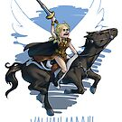 Queen Bru by Arkie Ring
