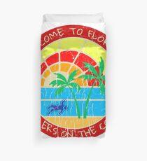Welcome to Florida True Crime Logo Duvet Cover