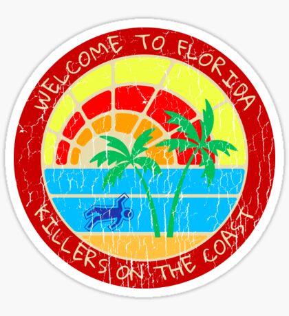 Welcome to Florida True Crime Logo Sticker