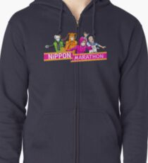 Nippon Marathon: All Four Contestants Zipped Hoodie