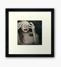 Out of sight... Framed Print