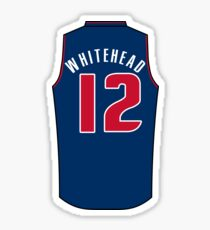 Isaiah Whitehead Jersey Sticker