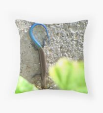 Do you like my tail? Throw Pillow