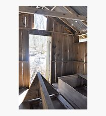 Inside Looking Out - Mt. Gretna, PA Photographic Print
