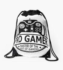Pro Gamer - Master Of The Art Of Gaming Drawstring Bag