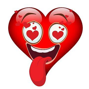 Herz emoji von THELOUDSiLENCE