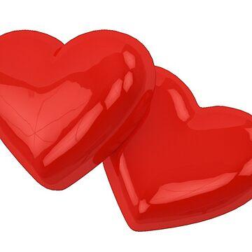 Herzen rot von THELOUDSiLENCE